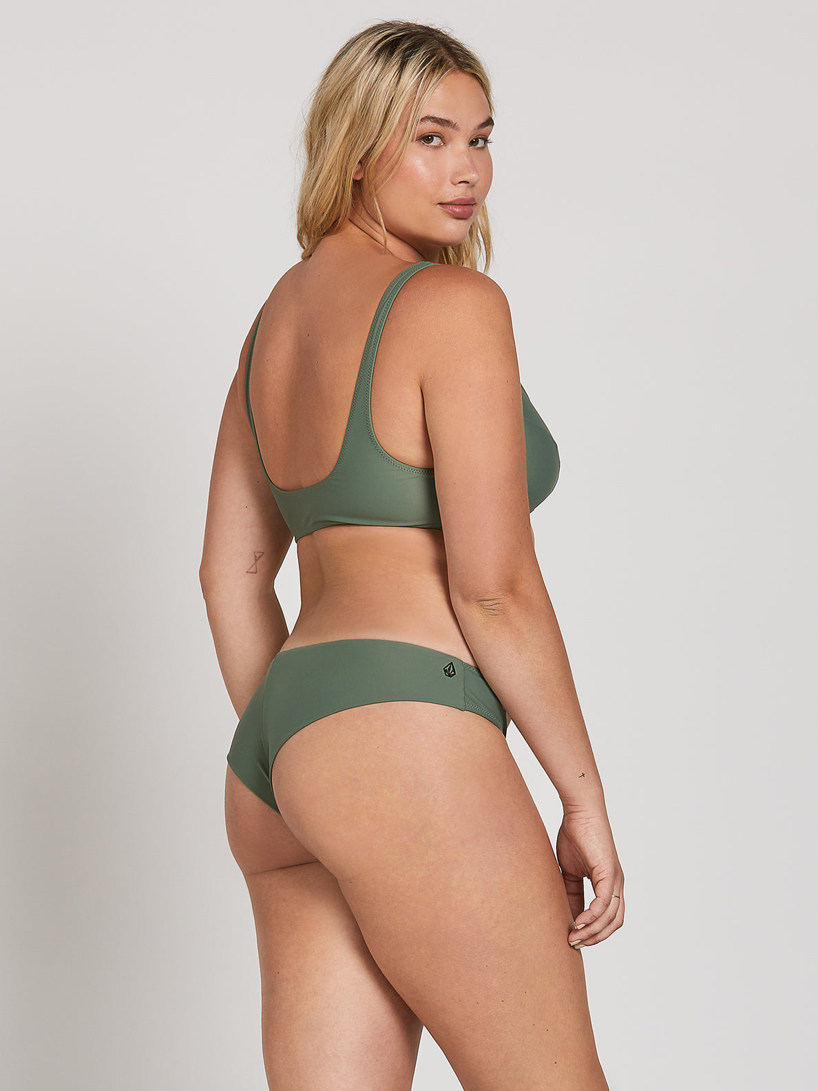 Simply Solid Cheeky Bottoms - Dark Green (O2141900_DKG) [22]