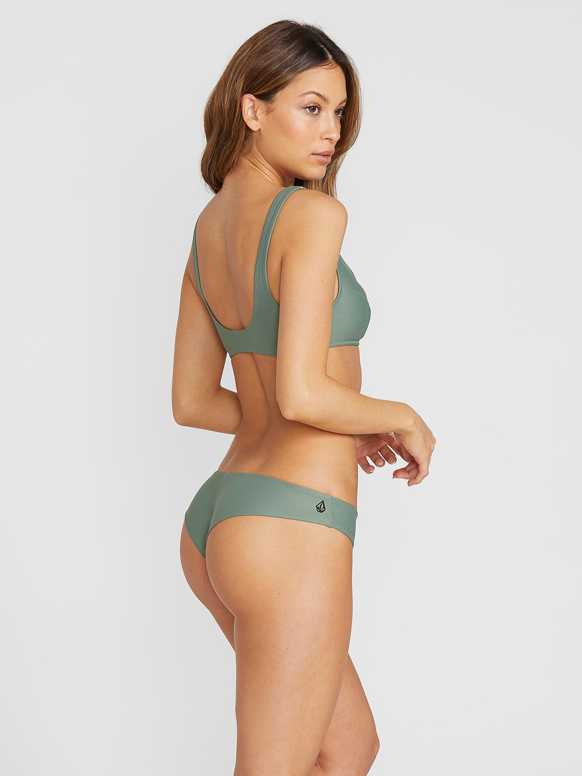 Simply Solid Cheeky Bottoms - Dark Green (O2141900_DKG) [B]