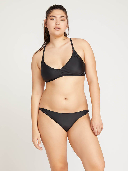 Simply Solid Full Bottoms In Black, Back Extended Size View
