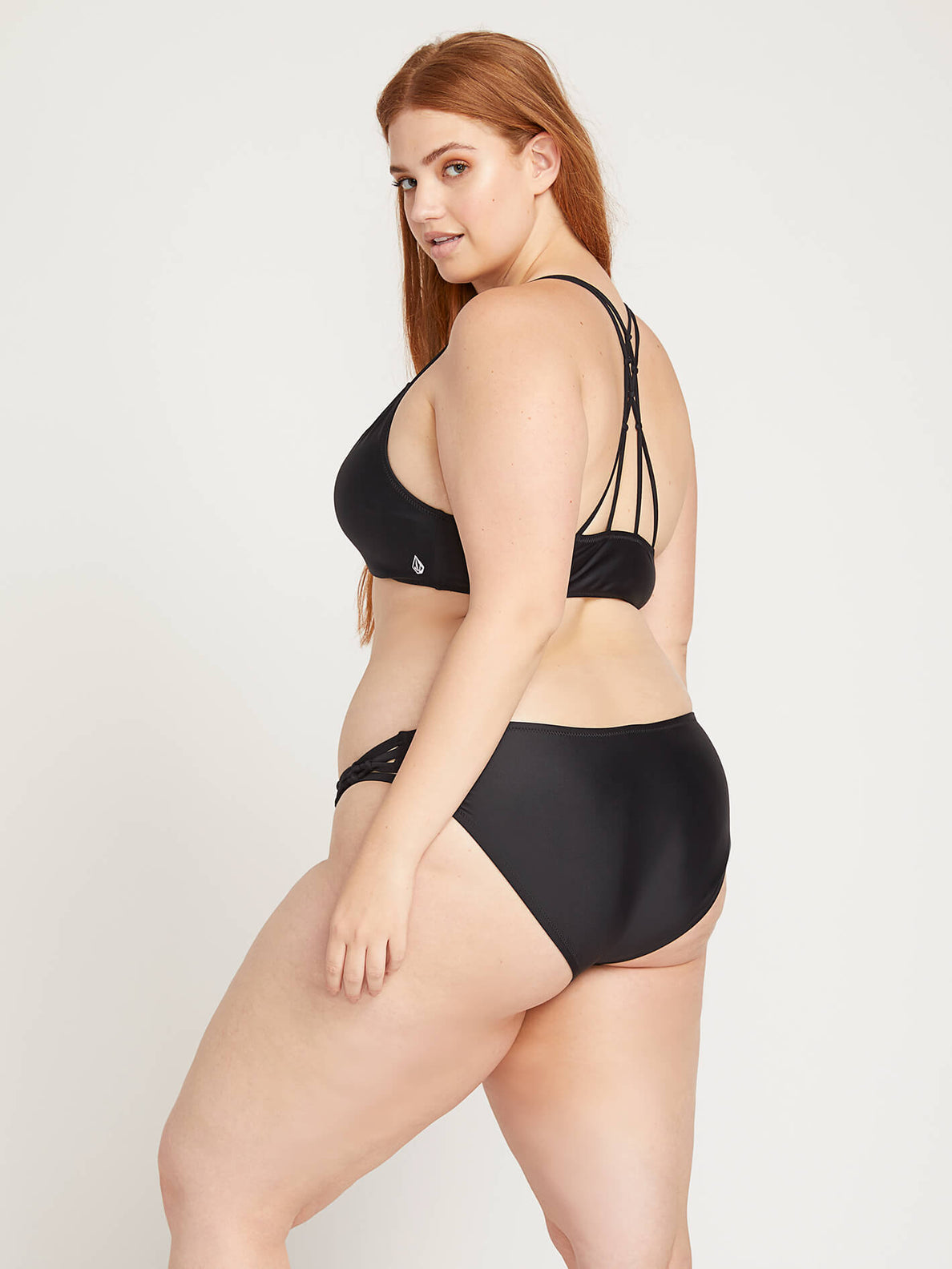 Simply Solid Full Bottoms In Black, Second Alternate Plus Size View