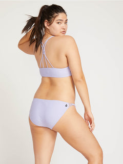 Simply Solid Full Bottoms In Violet, Front Extended Size View