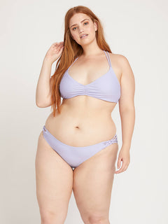 Simply Solid Full Bottoms In Violet, Alternate Plus Size View
