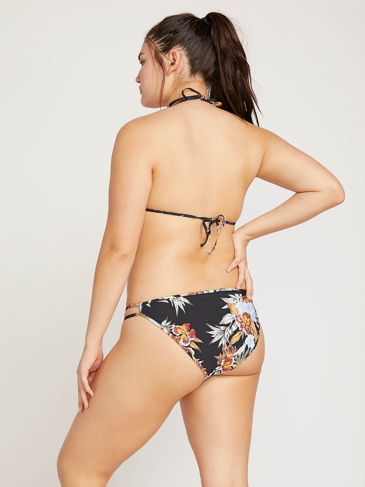 Tropakill Hipster Bottoms In Black, Back Extended Size View