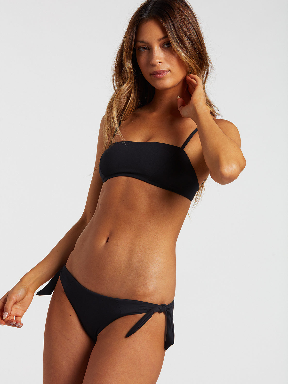 Simply Seamless Tie Side - Black (O2212000_BLK) [2]