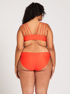 Simply Solid Full Bottom Plus Size - Electric Coral (O2241905P_ELC) [1]