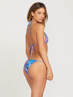 Gmj X Volcom Skimpy Bottoms In Multi, Front View
