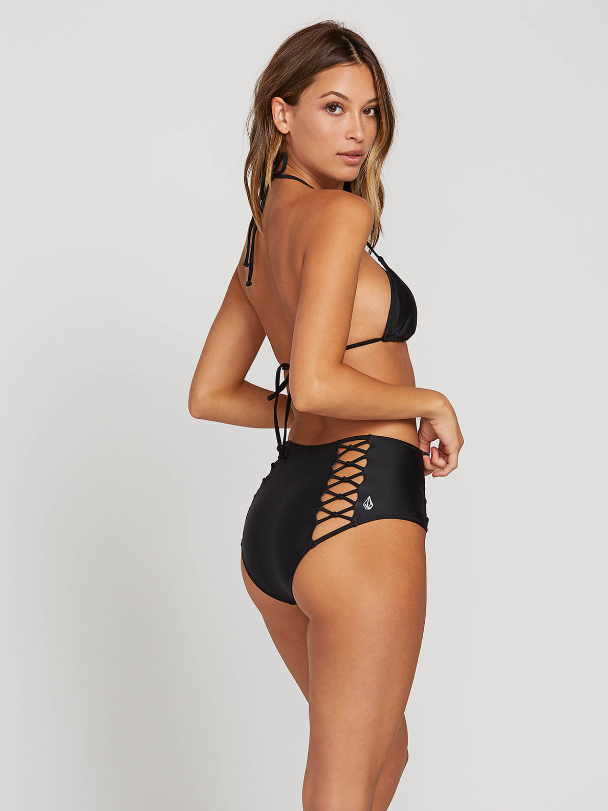 Simply Solids Retro Bottom Extended Size - Black