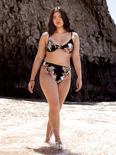 Tropakill Retro Bottoms In Black, Alternate Plus Size View