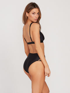Simply Solid Retro Bottom - Black (O2612000_BLK) [B]