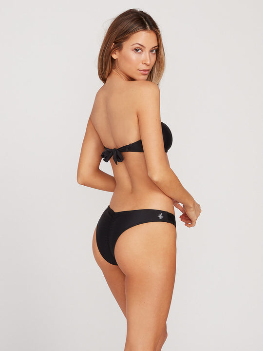 Simply Solid V Bottoms - Black (O2721700_BLK) [B]