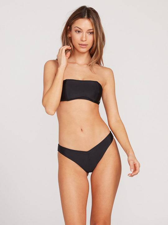 Simply Solid V Bottoms - Black (O2721700_BLK) [F]