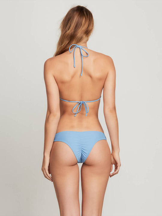 Simply Solid V Bottoms In Sandy Indigo, Alternate View
