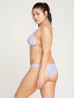 Simply Solid V Bottoms In Violet, Alternate Extended Size View
