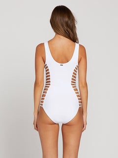 Gmj X Volcom 1 Piece In White, Alternate View