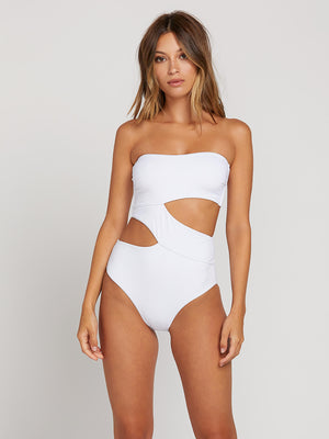 3d847c68768 Simply Seamless One Piece - White in WHITE - Primary View