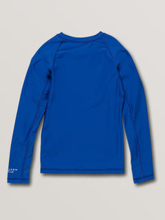 Big Boys Lido Solid Long Sleeve Upf 50 Rashguard