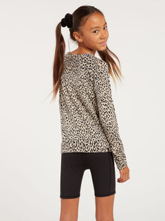 Big Girls Over N Out Sweater - Leopard (R0732000_LEO) [B]