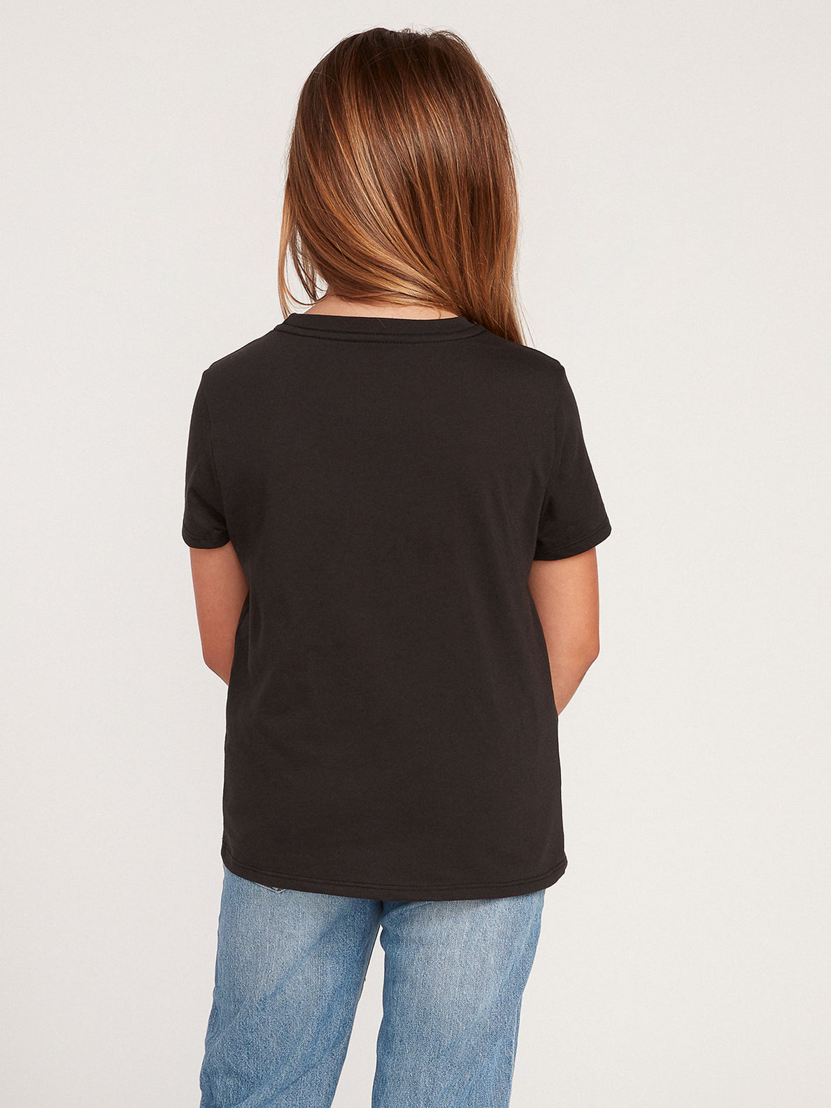 Big Girls Wav-Ello Tee - Black (R35120H0_BLK) [B]