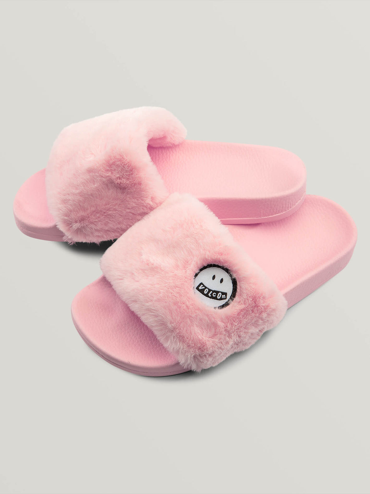 Girls Lived In Lounge Slides In Blush Pink, Front View