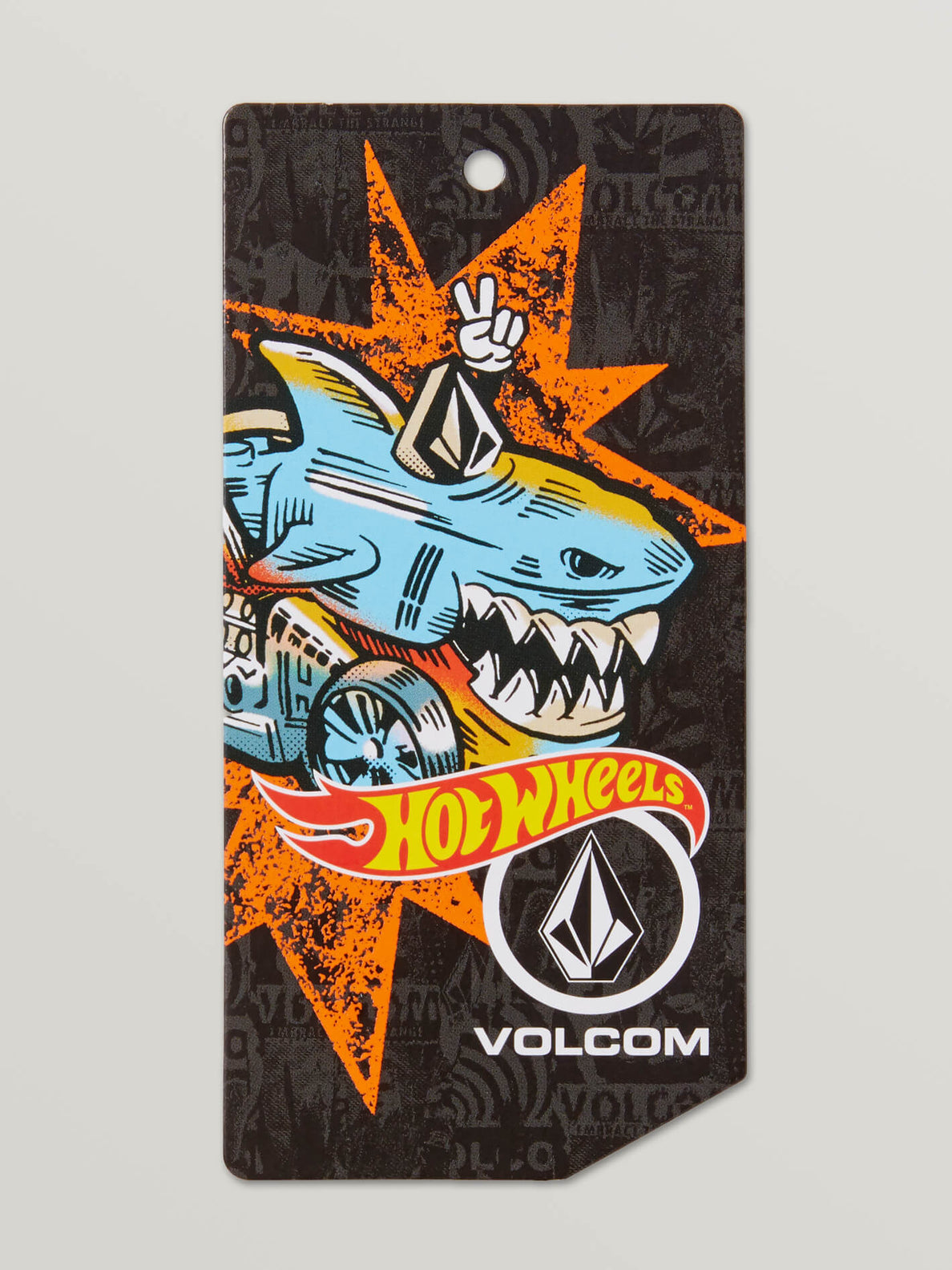 Little Boys Hot Wheels'Ñ¢ X Volcom Long Sleeve Tee In MISSING Tag MISSING b6dad5cd-01