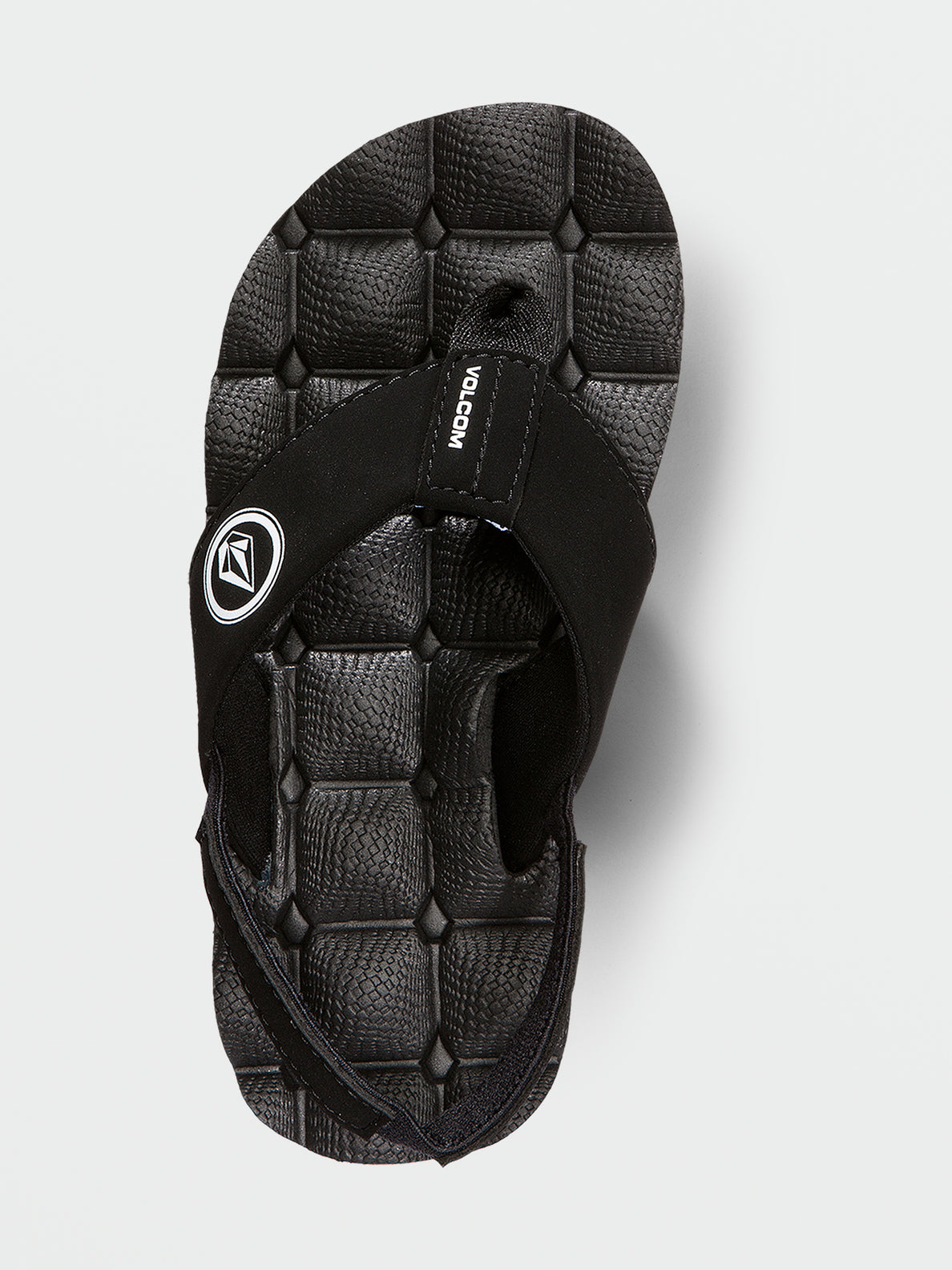Little Boys Recliner Sandal - Black White (U0811520_BWH) [B]