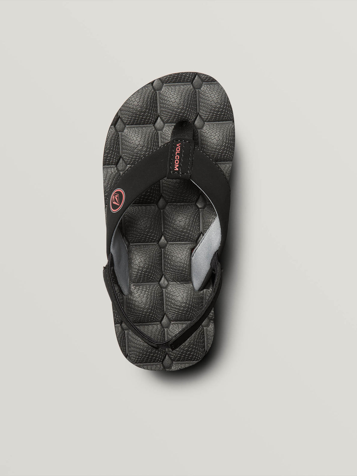 Little Boys Recliner Sandals In Graphite, Alternate View