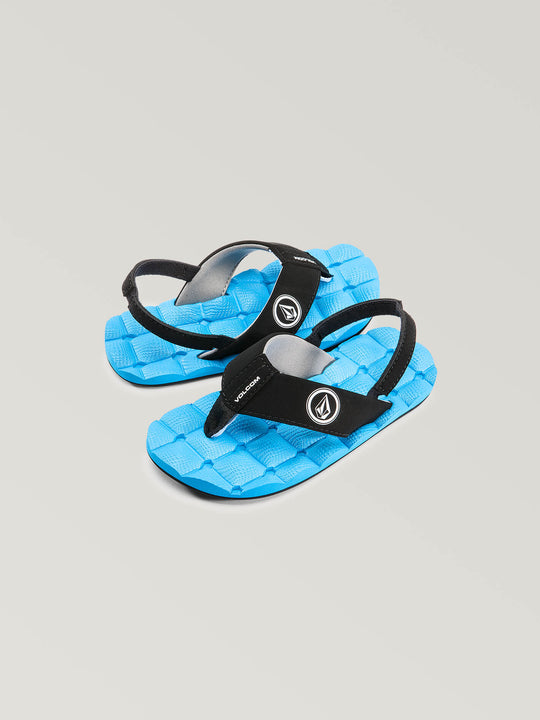 Little Boys Recliner Sandal - Marina Blue (U0811520_MRB) [F]