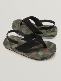 Little Boys Victor Sandal - Dark Camo (U0811622_DCA) [F]