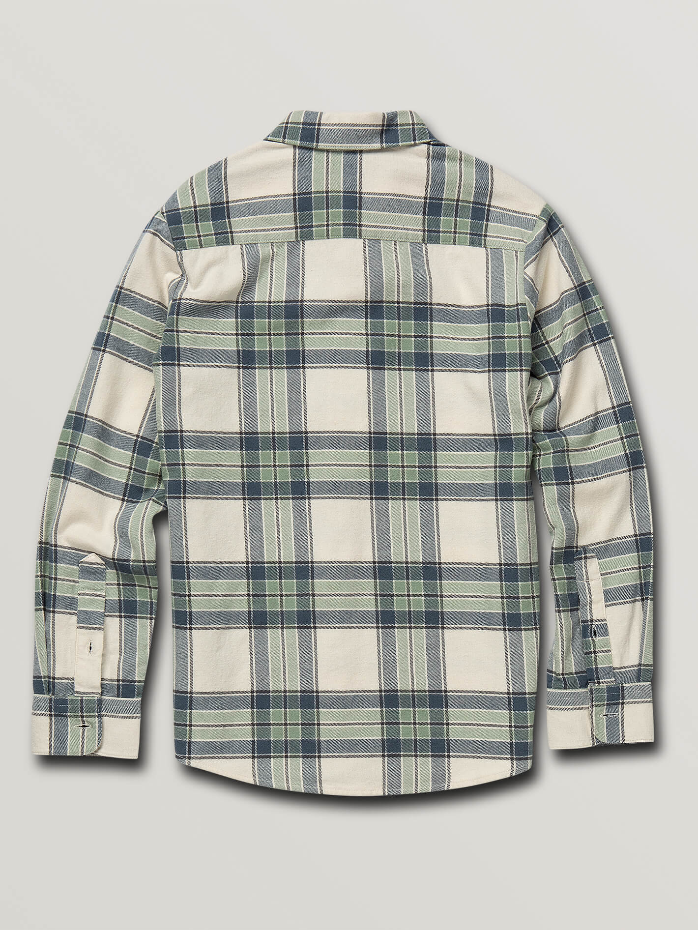786bf2c65 Big Boys Caden Plaid Long Sleeve Flannel - Off White in OFF WHITE -  Alternative View
