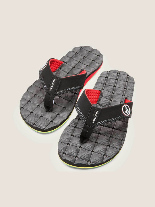 Recliner Sandals In Jah, Front View