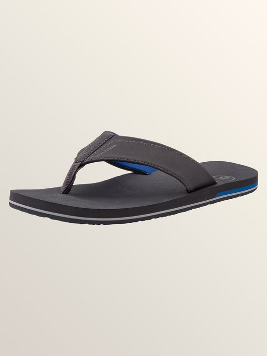 Victor Sandals - Gunmetal Grey