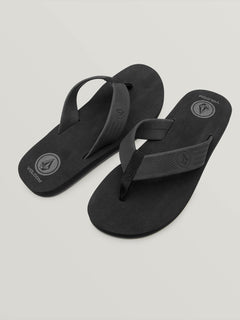 Daycation Sandal - Black Destructo (V0811773_BKD) [F]
