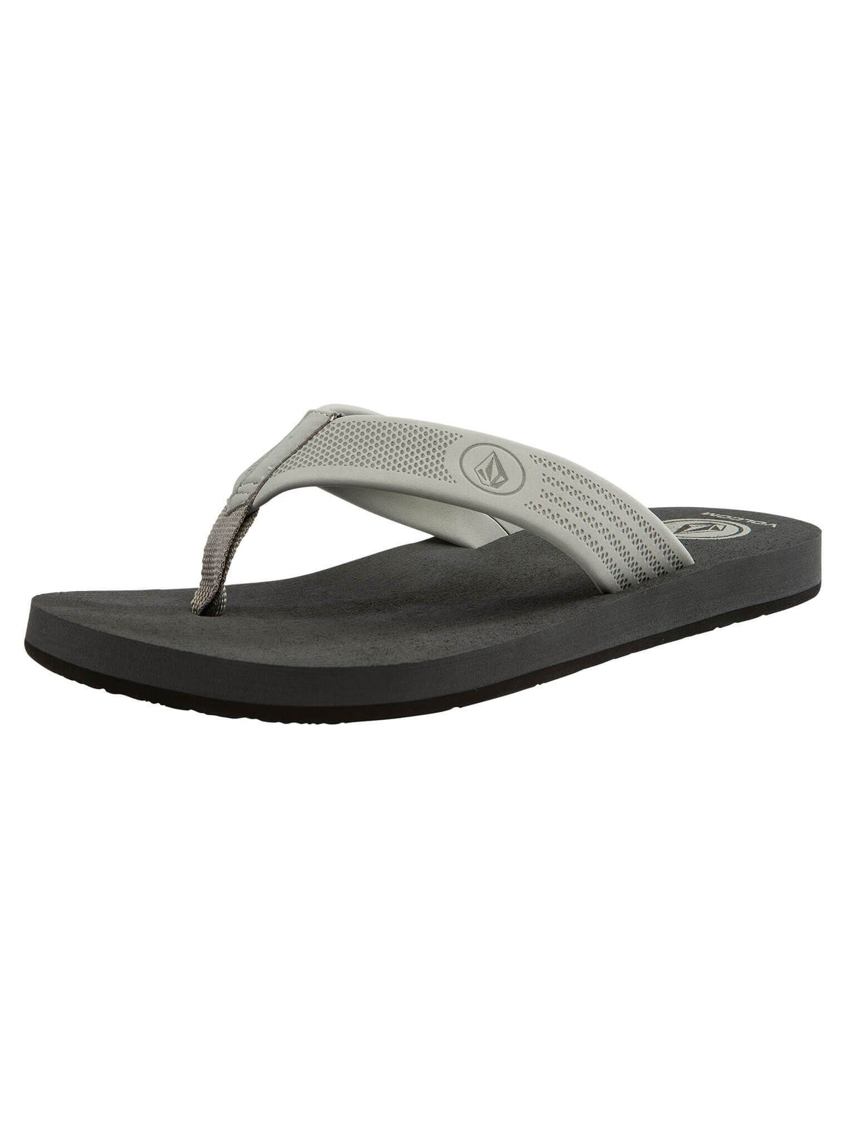 Daycation Sandals In Neutral Grey, Back View