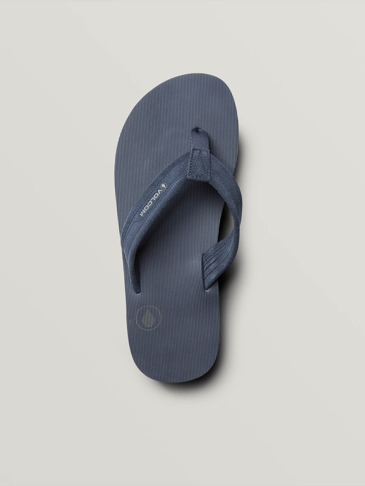 Driftin Leather Sandals In Slate Blue, Alternate View