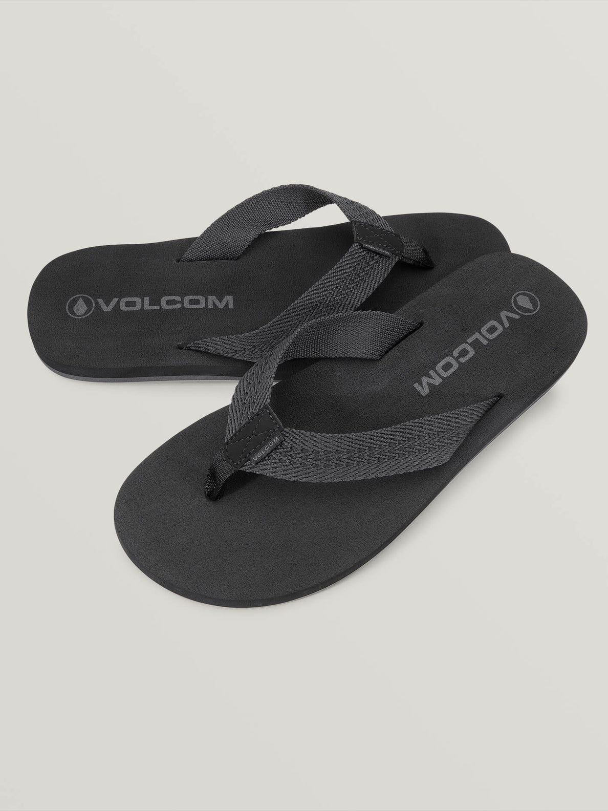 Daycation Sandals In Blackout, Front View