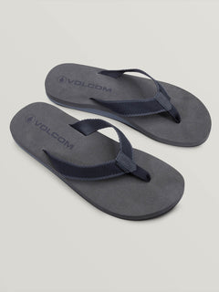 Daycation Sandals In Grey Combo, Front View