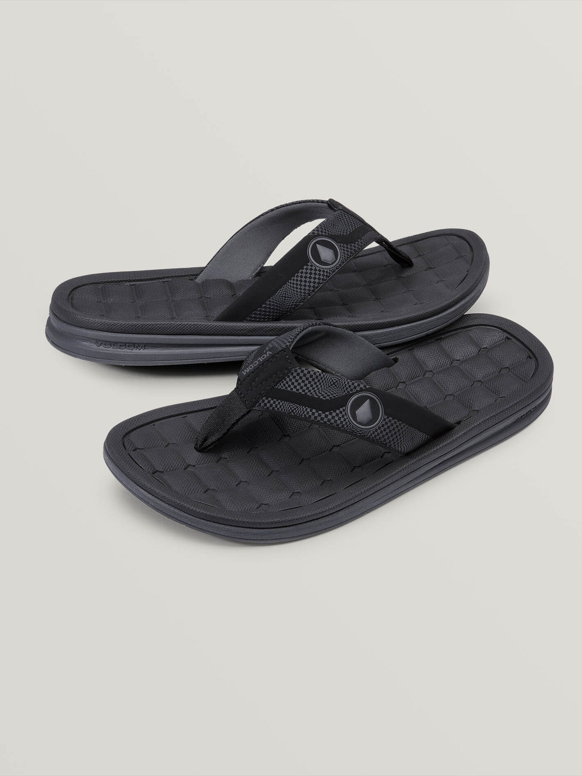 Drafted Recliner Sandals (V0811901_BLC) [F]