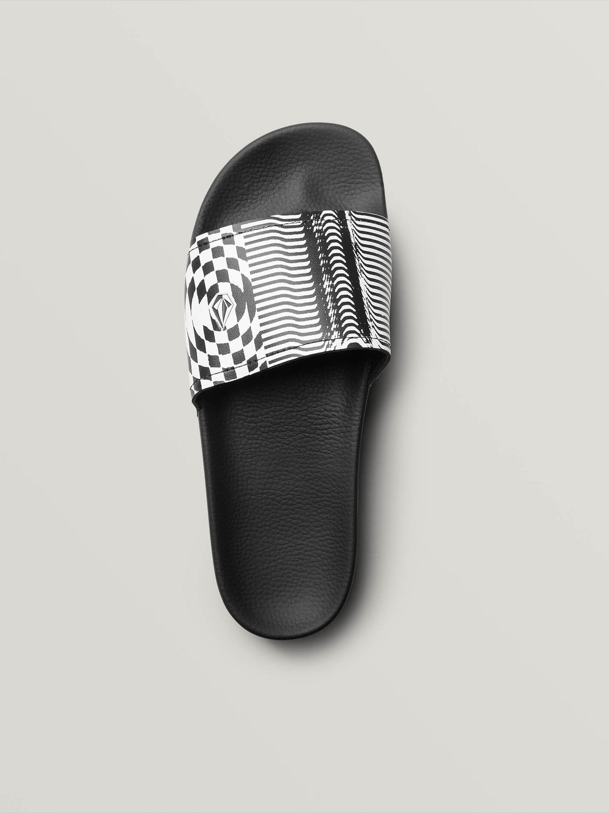 Don't Trip Slides In Black Stripe, Alternate View