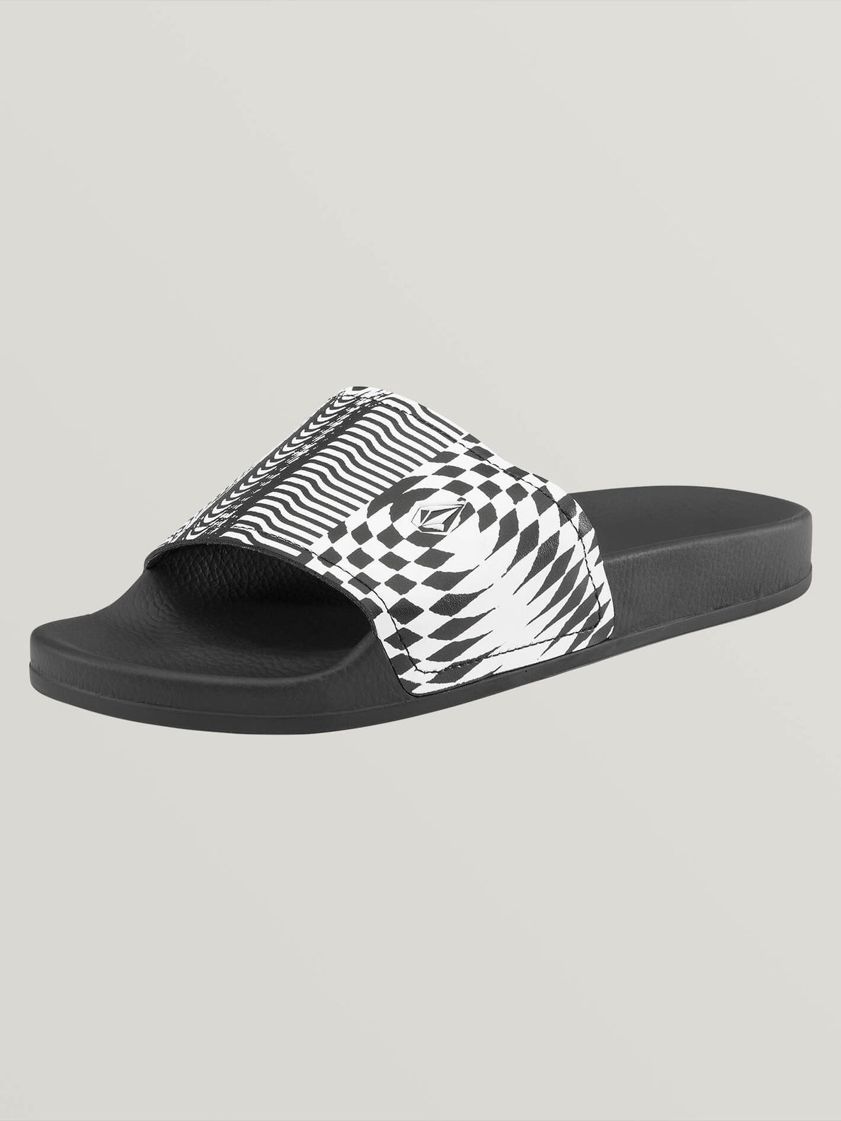 Don't Trip Slides In Black Stripe, Back View