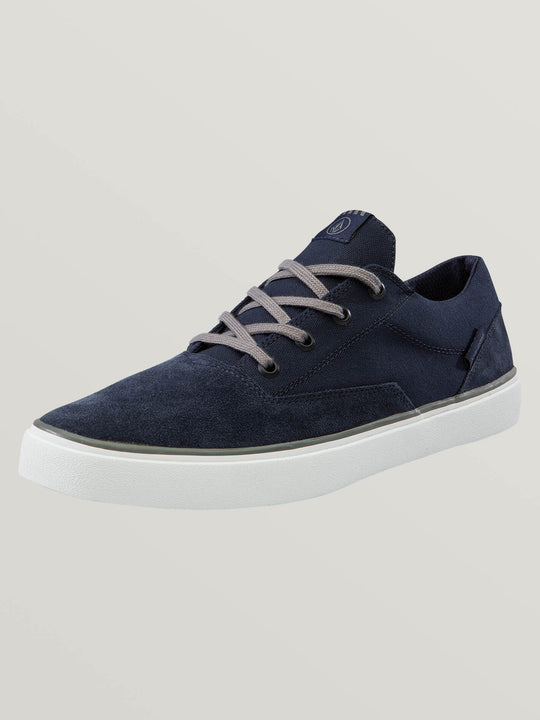Draw Lo Suede Shoes In Blue Combo, Fifth Alternate View