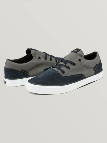 f5f12352eb6b09 Draw Lo Suede Shoes - Navy Heather