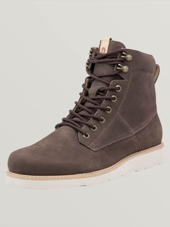 Smithington Ii Boots In Coffee, Back View