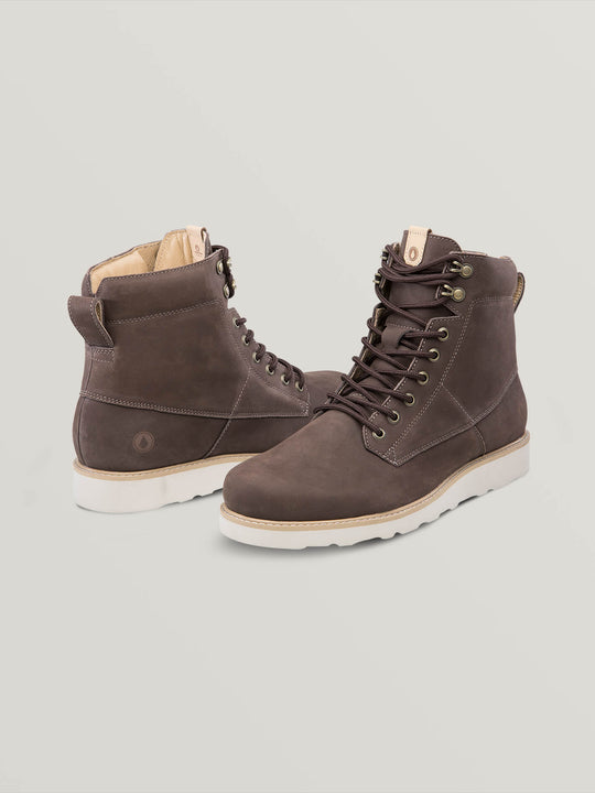 Smithington Ii Boots In Coffee, Front View