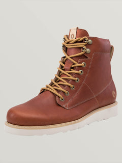 Smithington Ii Boots In Rust, Back View