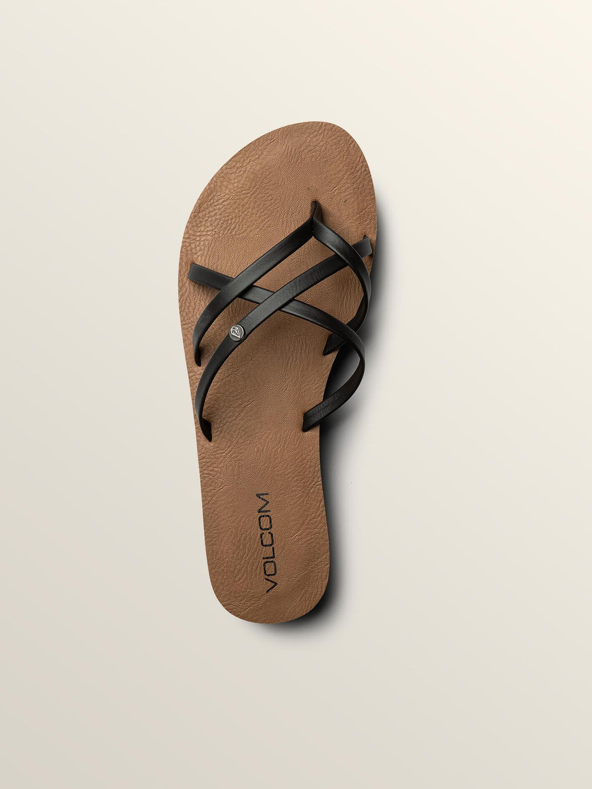 New School Sandals In Black, Alternate View