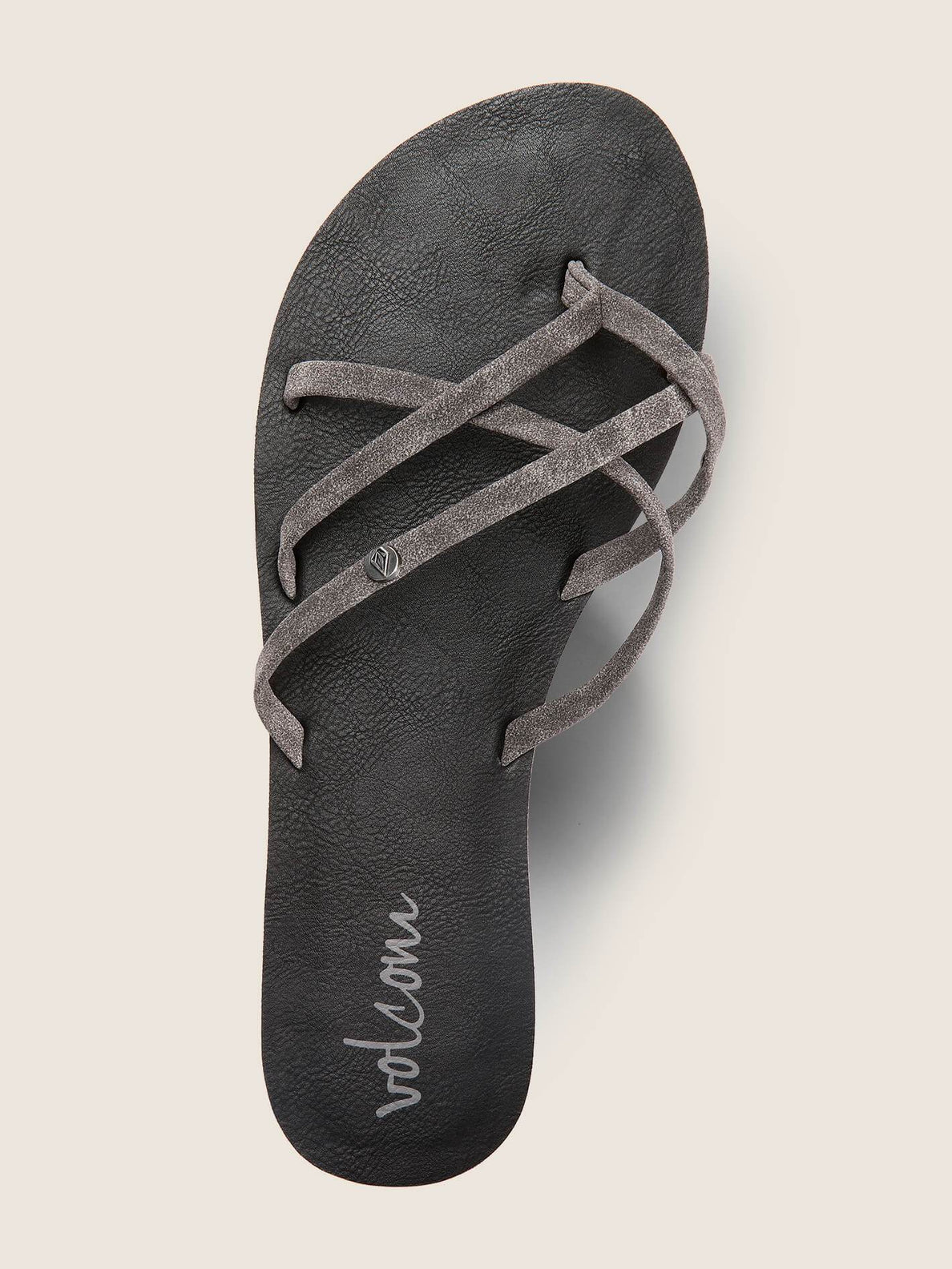 New School Sandals In Grey, Alternate View