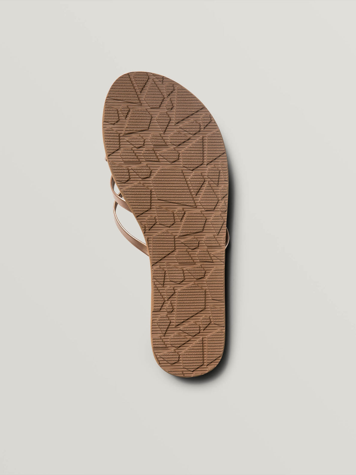 New School Sandals In Rose Gold, Second Alternate View