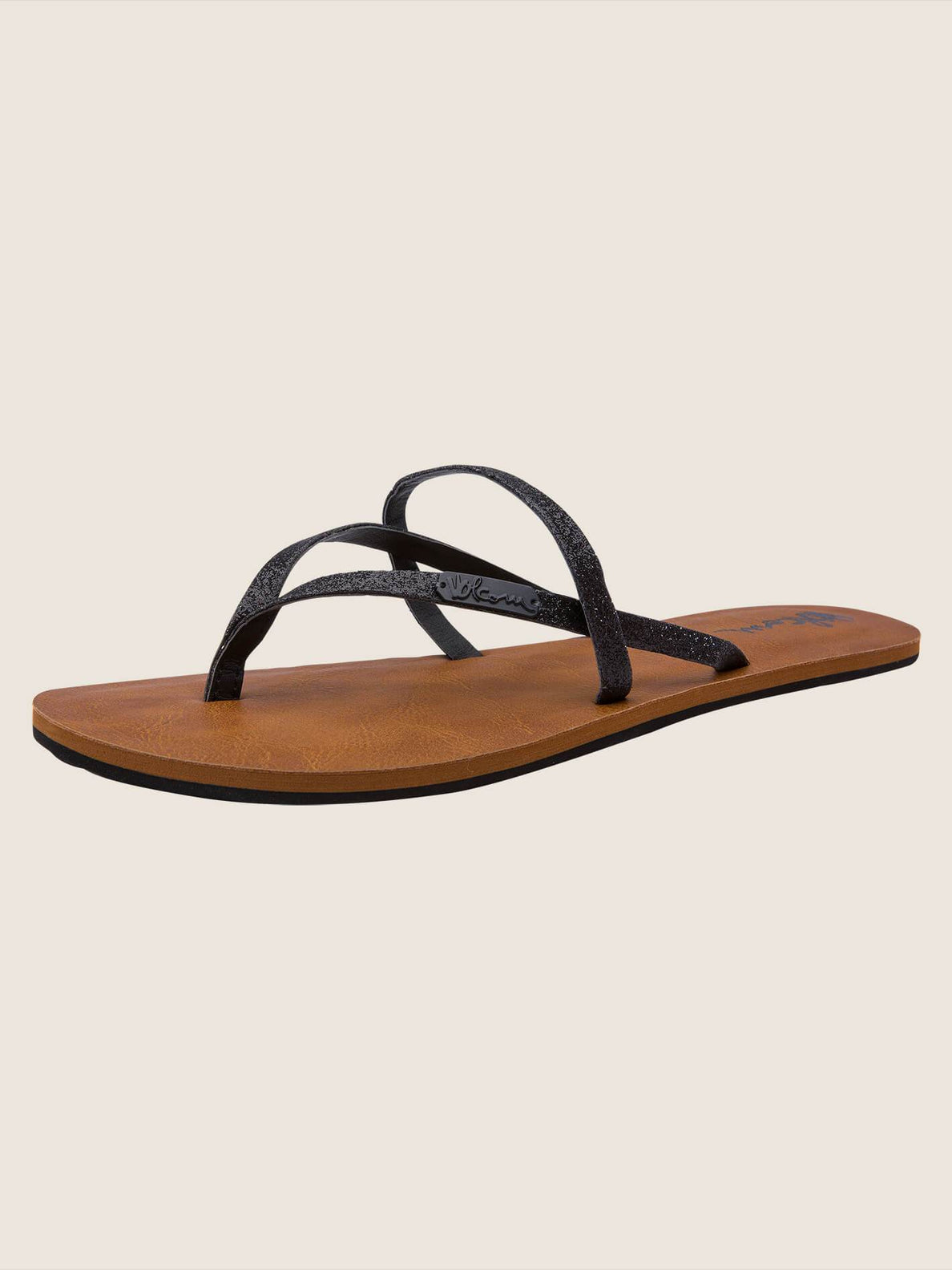 All Night Long Sandals In Black Combo, Back View