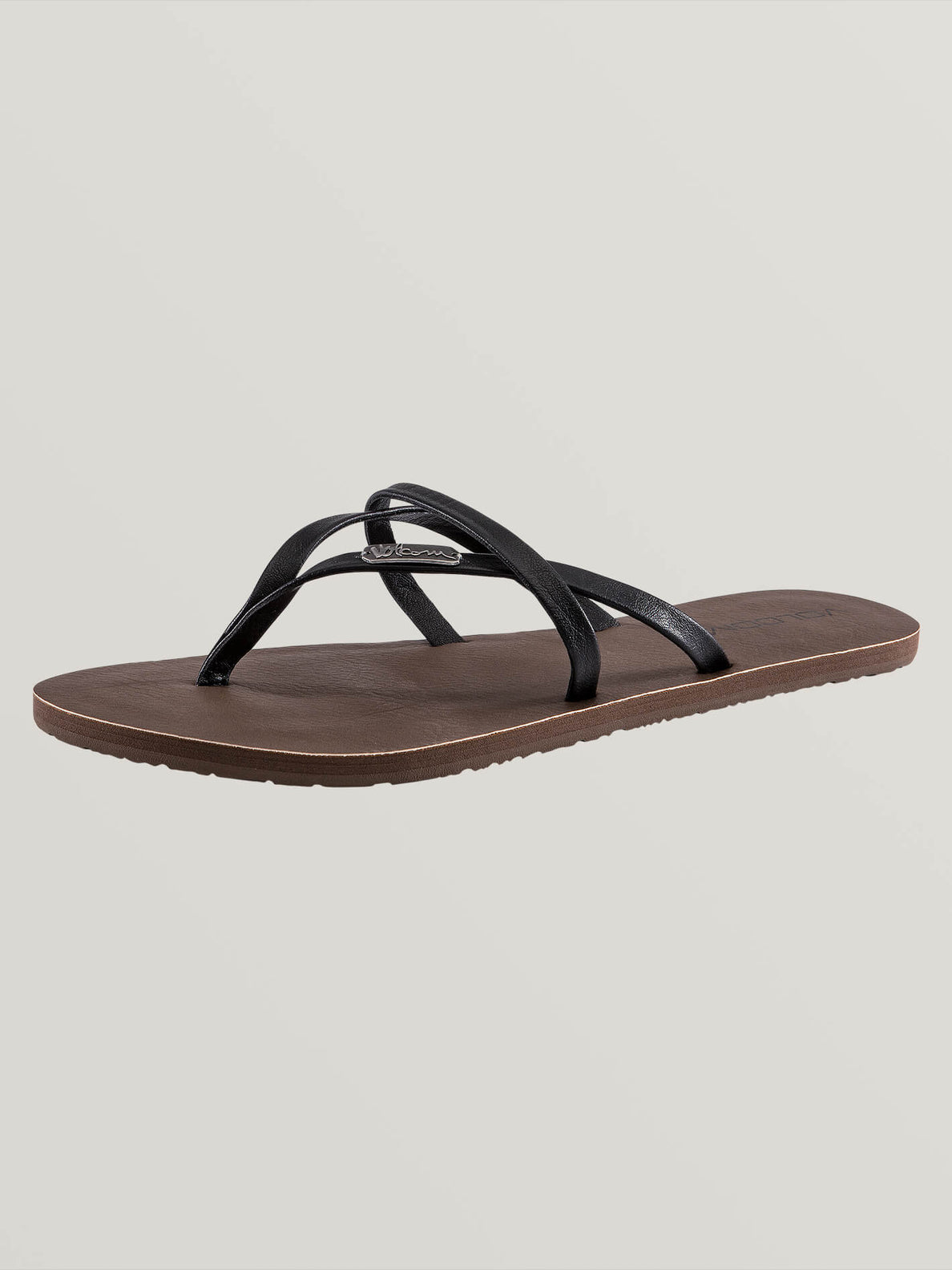 All Night Long Sandals In Black, Back View