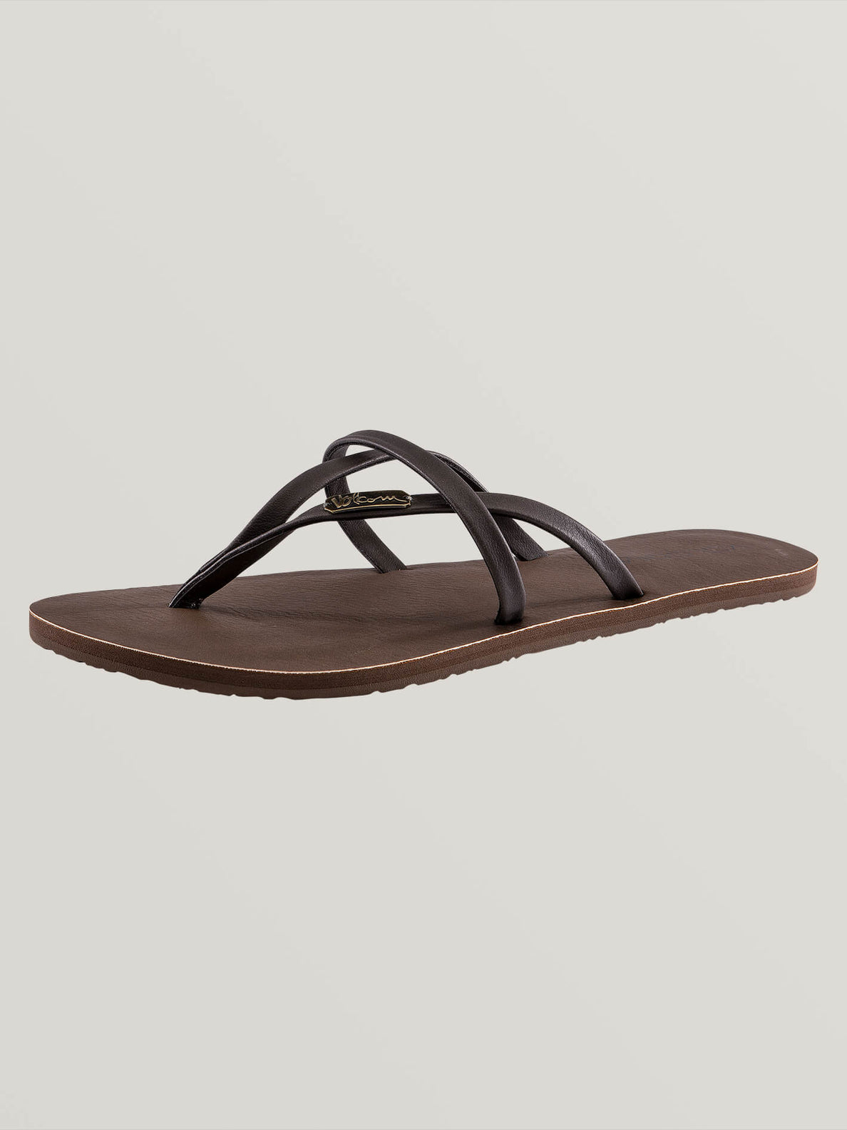 All Night Long Sandals In Brown, Back View